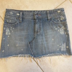 American Eagle Outfitters Denim Skirt Size 6